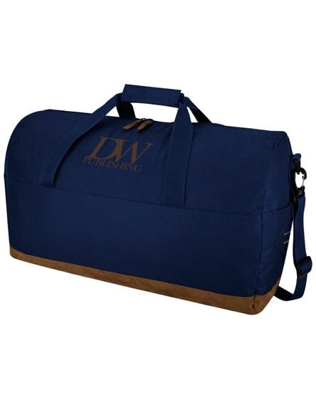 branded chester duffel bag