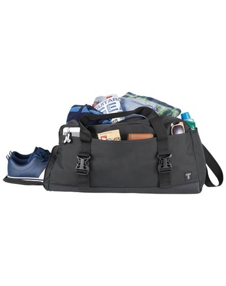 "branded day 21"" travel duffel bag"