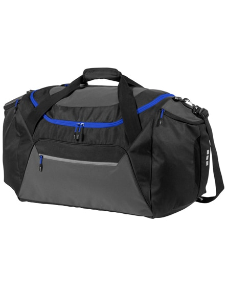 branded milton travel duffel bag