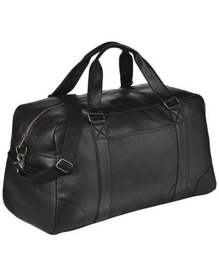 branded oxford weekend travel duffel bag