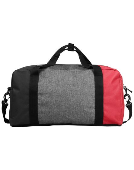 "branded three-way colourblock 19"" duffel bag"