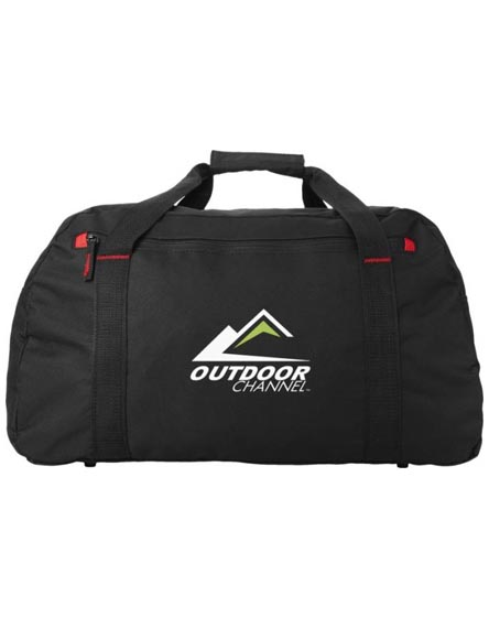 branded vancouver travel duffel bag