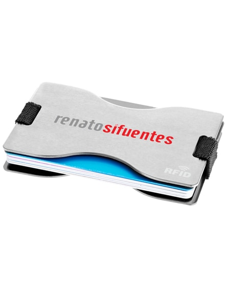 branded adventurer rfid 12-card protective holder