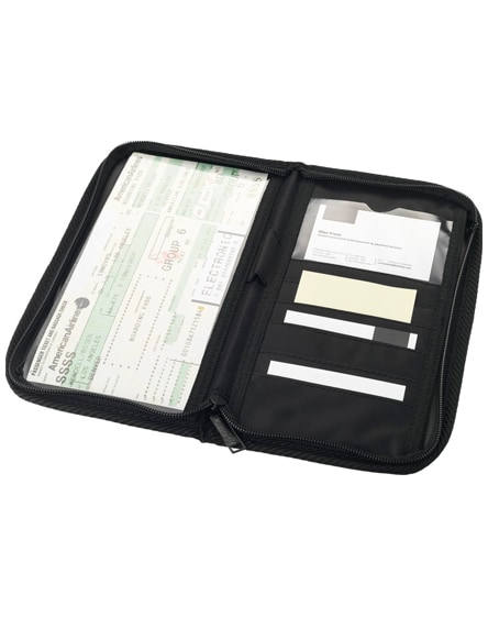 branded bilbao travel wallet