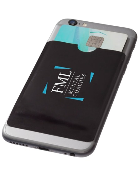 branded exeter rfid smartphone card wallet
