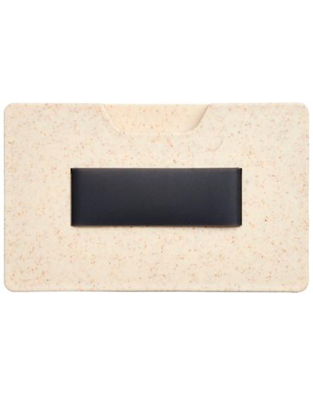 branded grass rfid multi card holder
