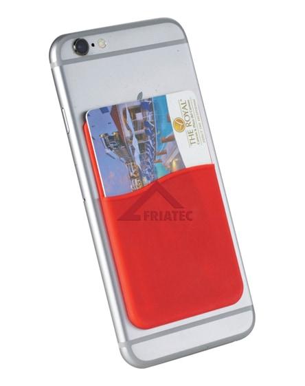 branded slim card wallet accessory for smartphones