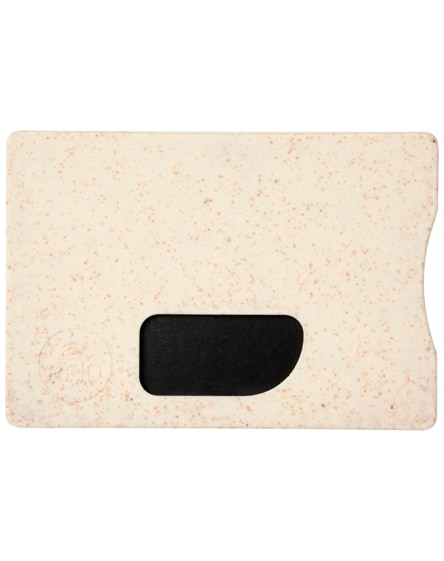 branded straw rfid card holder
