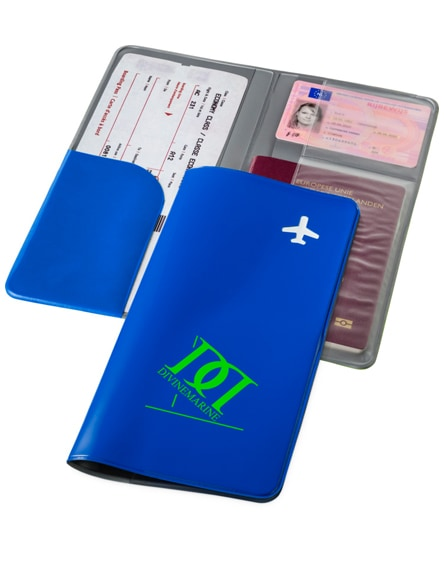 branded voyageur travel wallet