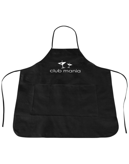 branded cocina apron
