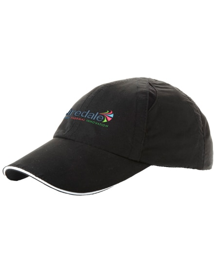 branded alley 6 panel cool fit sandwich cap