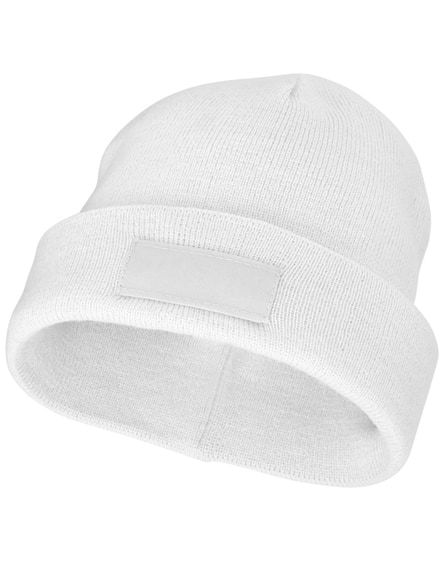 branded boreas beanie with patch