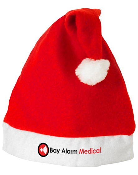 branded christmas hat
