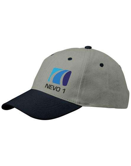 branded grip 6 panel cap