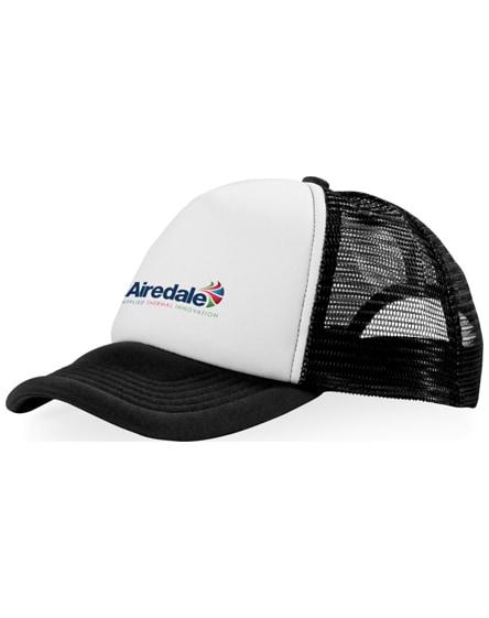 branded trucker 5 panel cap