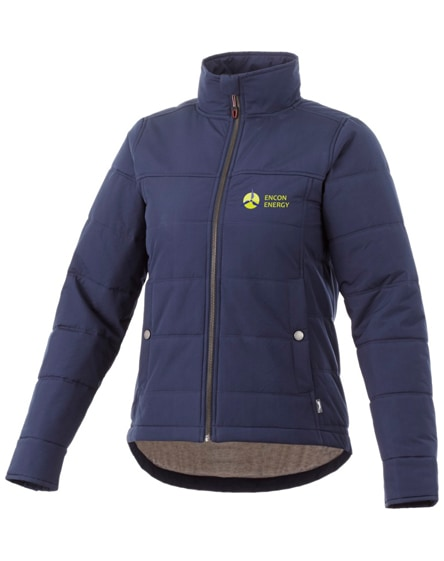 branded bouncer insulated ladies jacket