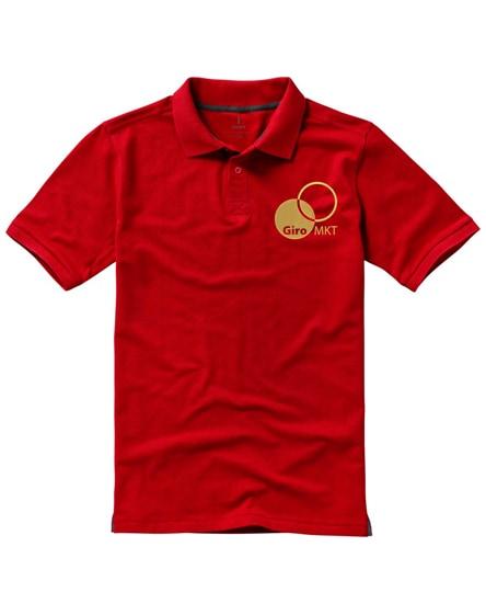 branded calgary short sleeve men's polo