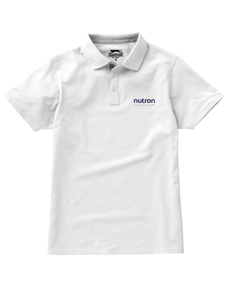branded hacker short sleeve polo
