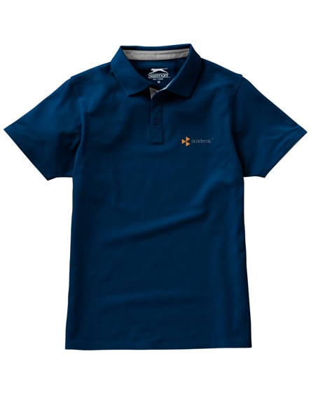 branded hacker short sleeve polo