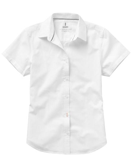 branded manitoba short sleeve ladies shirt