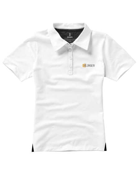 branded markham short sleeve women's stretch polo
