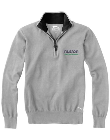 branded set quarter zip pullover