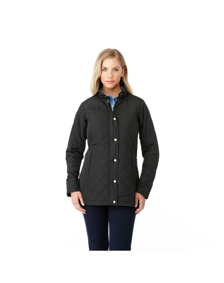 branded stance ladies insulated jacket