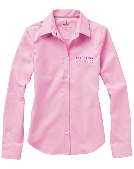 branded vaillant long sleeve ladies shirt