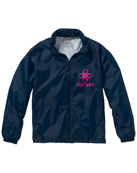 branded action jacket