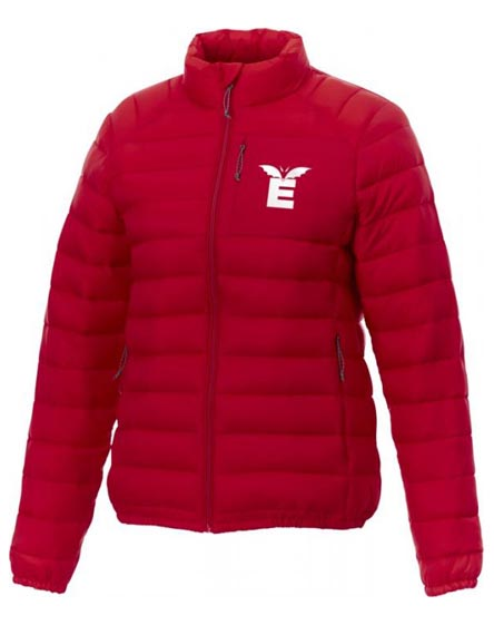 branded athenas women's insulated jacket