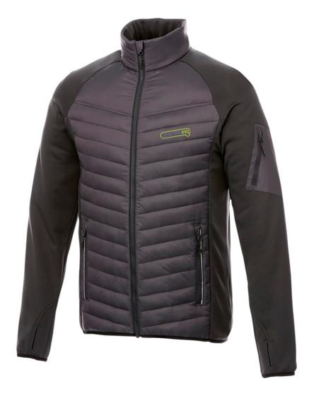 branded banff hybrid insulated jacket