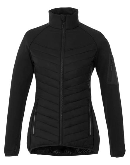 branded banff hybrid insulated ladies jacket