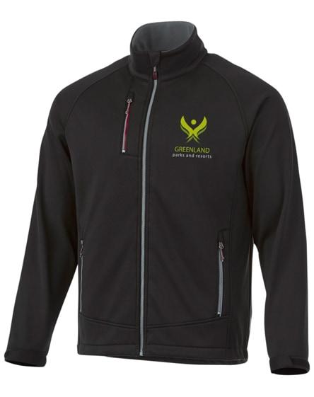 branded chuck softshell jacket