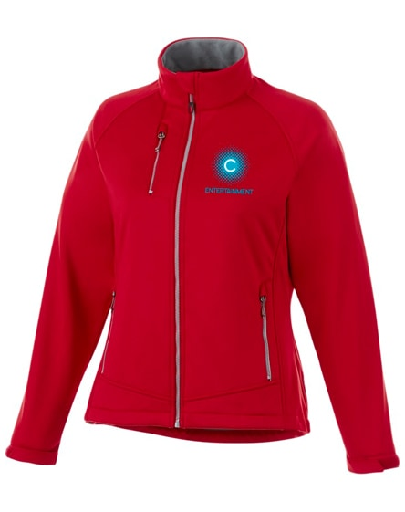 branded chuck ss lds jacket, red, xs