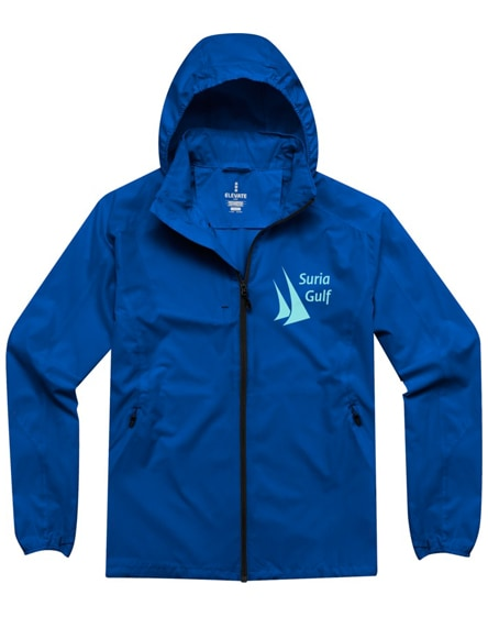branded flint lightweight jacket