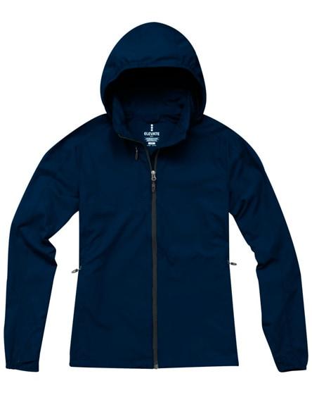 branded flint lightweight ladies jacket