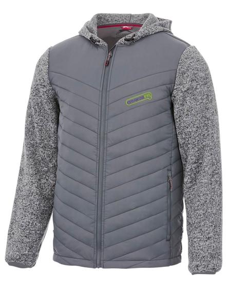 branded hutch insulated hybrid jacket