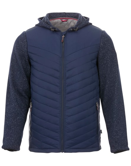 branded hutch insulated hybrid jacket