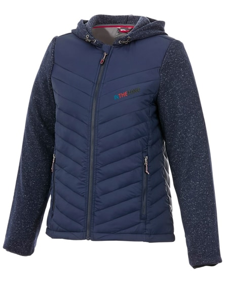 branded hutch women's hybrid insulated jacket