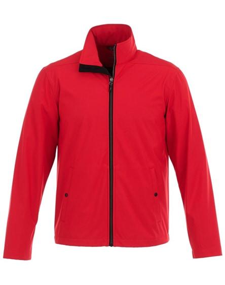 branded karmine men's softshell jacket