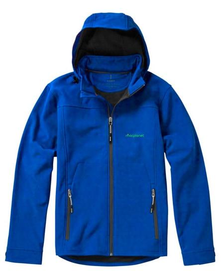branded langley softshell jacket