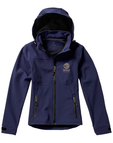 branded langley softshell ladies jacket