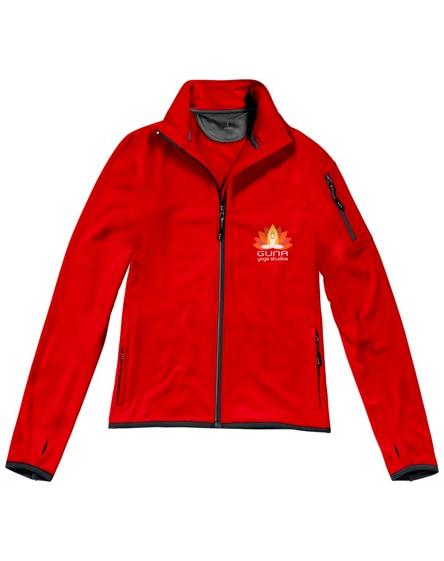 branded mani power fleece full zip ladies jacket