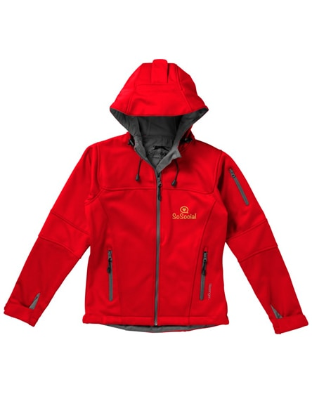 branded match ladies softshell jacket
