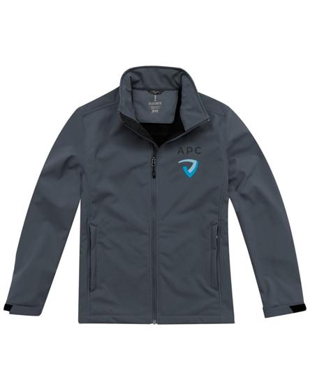 branded maxson softshell jacket