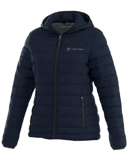 branded norquay insulated ladies jacket