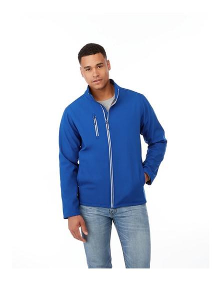 branded orion men's softshell jacket