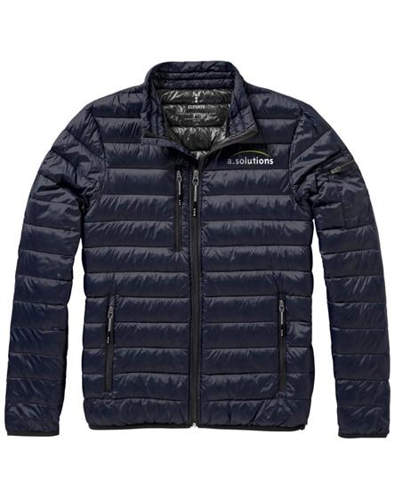 branded scotia light down jacket