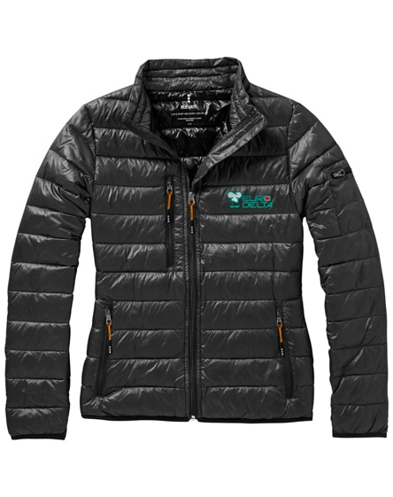branded scotia light down ladies jacket