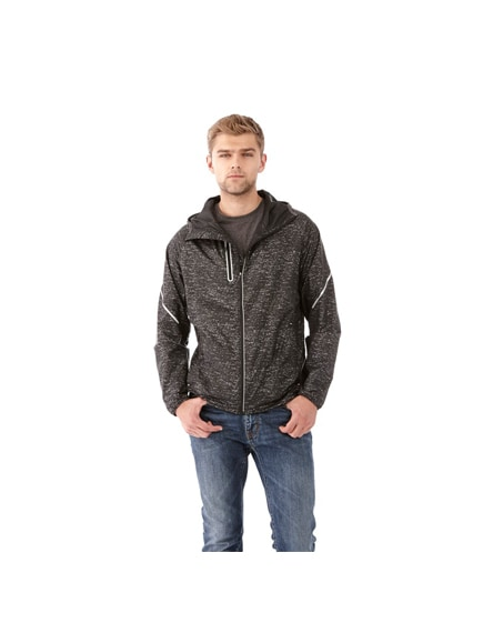 branded signal reflective packable jacket